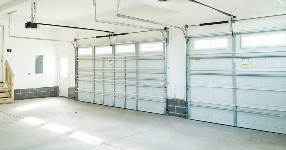 Overhead garage door installation Fairfax County