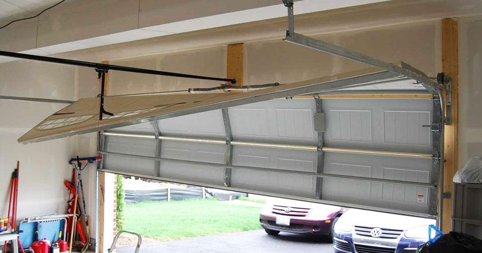 Off Tracks Garage Door Repair Fairfax County